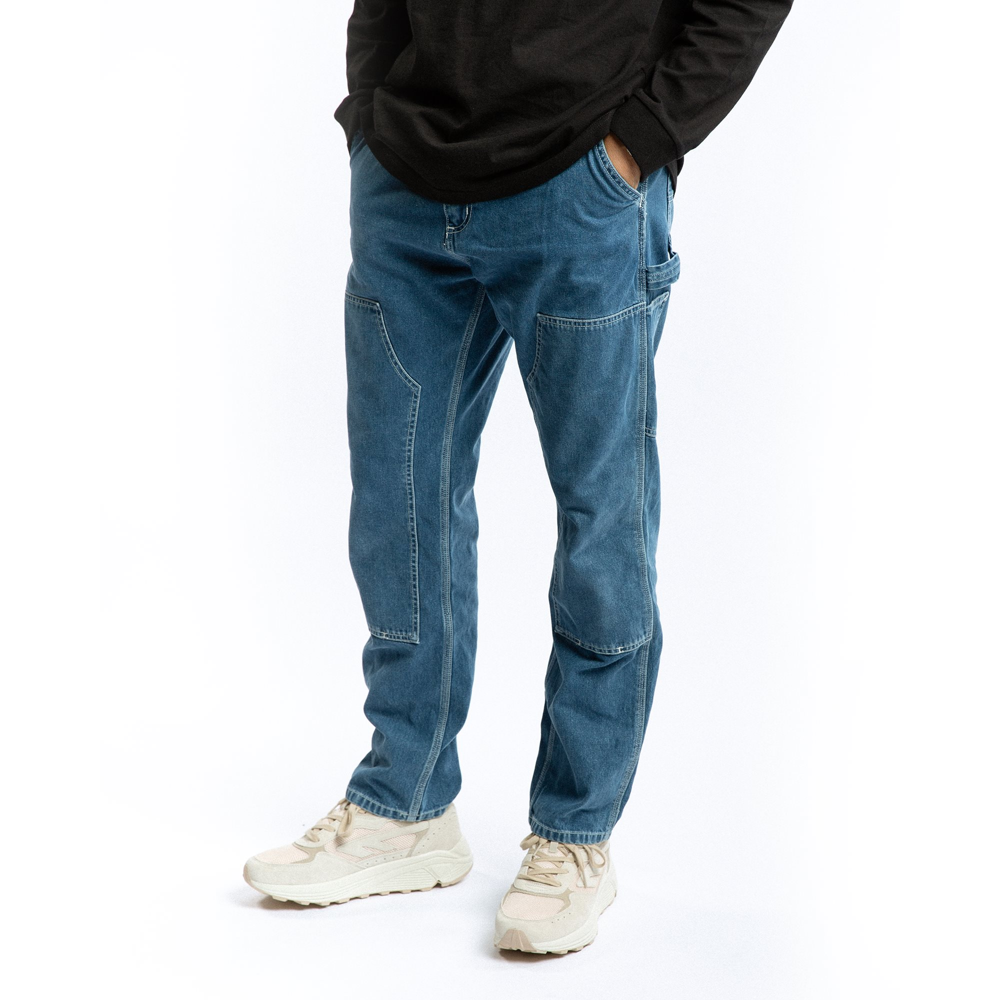 Jeans - Tapered fit - Blue